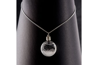 Fitzroy Storm Glass Pendant Necklace Weather Forecaster