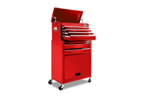 8-Drawer Tool Trolley (Red)