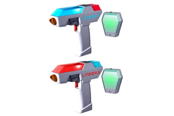 Laser X Micro Double Blasters Real Life Gaming Experience Kids 8y+ Outdoor Toys