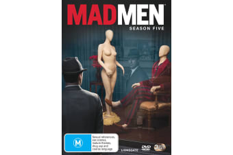 Mad Men Season 5 DVD Region 4