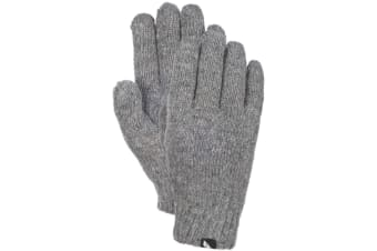 Trespass Women/Ladies Manicure Knitted Gloves (Grey Marl)