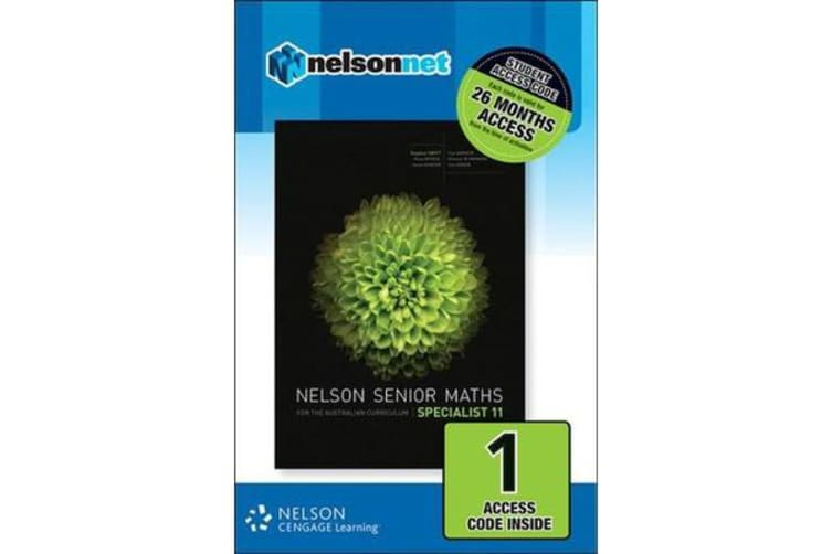 Nelson Senior Maths Specialist 11 Student Access Card 1 Year