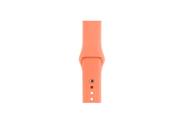 Select Mall Sport Band for Apple Watch, Soft Silicone Sport Strap Replacement Bands for iWatch Apple Watch Series 5 3 2 1 - 38MM/40MM