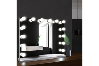 Hollywood Makeup Mirror With Light Frameless LED Blubs Lighted
