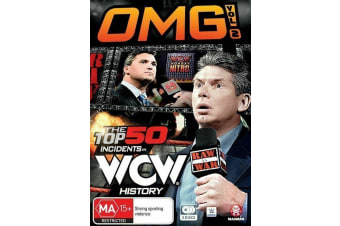 WWE - The Top 50 Incidents In WCW History Vol 2 - 3 Disc Set - Region 4