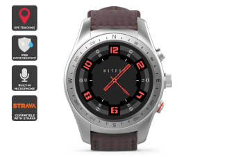 Kogan IP68 Multisport GPS Smartwatch (Silver Edition)