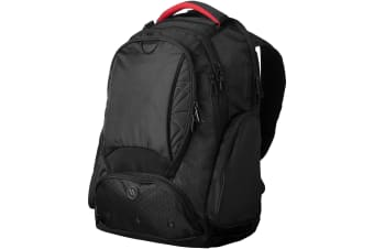Elleven Vapor Checkpoint Friendly 17in Computer Backpack (Solid Black) (33.5 x 21.5 x 49.5 cm)