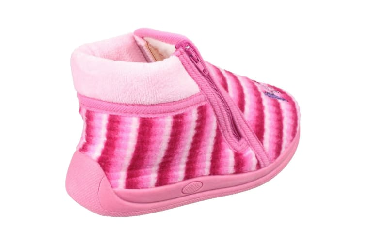 Mirak Safari Childrens Unisex Slippers (Pink) (26 EUR)