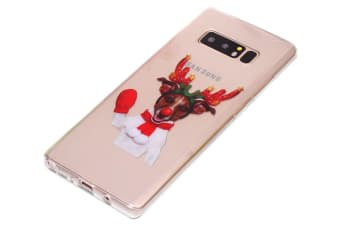 For Samsung Galaxy Note 8 Case Red Glove Elk Stylish Durable Protective Cover