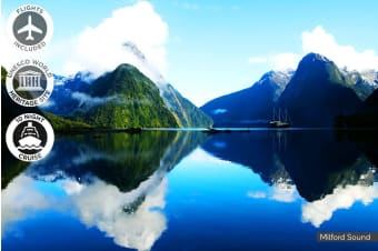 NEW ZEALAND: 14 Day New Zealand Cruise Including Flight for Two