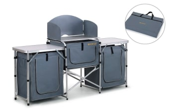 Komodo Deluxe Foldable Camping Kitchen