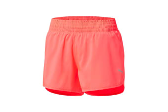 "Puma Women's Core-Run 3"" Shorts (Paradise Pink)"