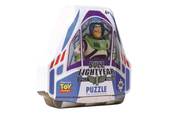 48pc Disney Toy Story 4 Signature Mystery Jigsaw Puzzle Game Kids Toys 4y+ w/Tin