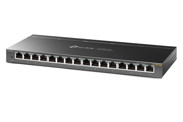 TP-Link 16-Port Gigabit Unmanaged Pro Switch (TL-SG116E)