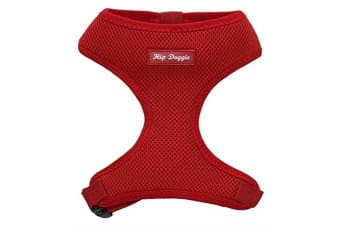Hip Doggie Ultra Comfort Harness Vest (Red)