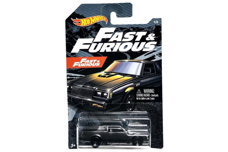 Hot Wheels Fast and Furious Buick Grand National Diecast Car