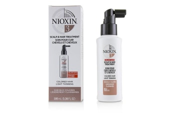 Nioxin Diameter System 3 Scalp & Hair Treatment (Colored Hair, Light Thinning, Color Safe) 100ml