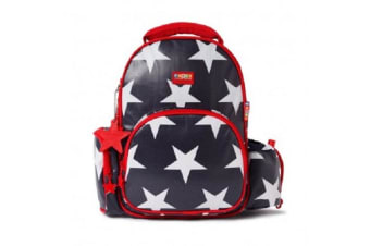 Penny Scallan  BPLNAS Kids Backpack Large Navy Star