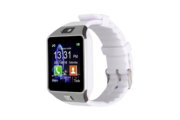 Boys And Girls Bluetooth Sports Watch,Smart Phone Watch For Children White