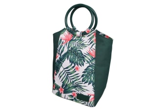 Sachi Insulated Lunch Bag carry Tote Storage Travel Bag Bird Of Paradise