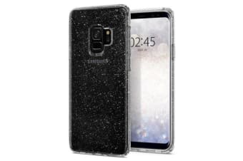 Spigen Galaxy S9 Liquid Crystal Glitter Case Crystal Quartz