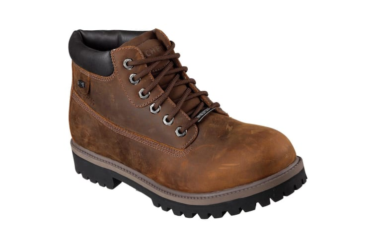 Skechers Mens Sargents Verdict Boots (Brown) (7 UK)