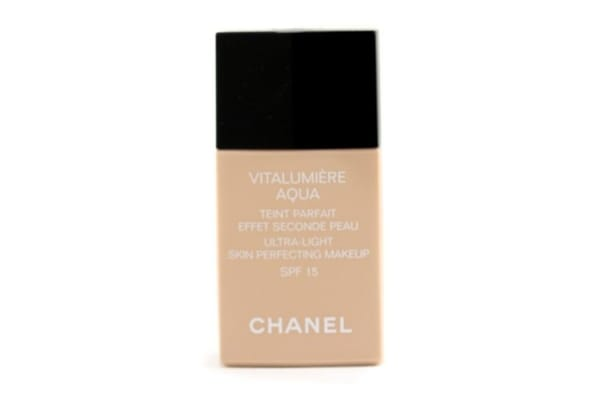 Chanel Vitalumiere Aqua Ultra Light Skin Perfecting Make Up SFP 15 - # BR50 Beige Rose Sienne (30ml/1oz)
