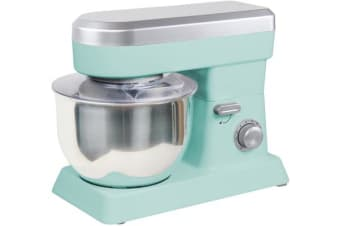 TODO 1200W 6.2L Retro Electric Stand Mixer - Blue