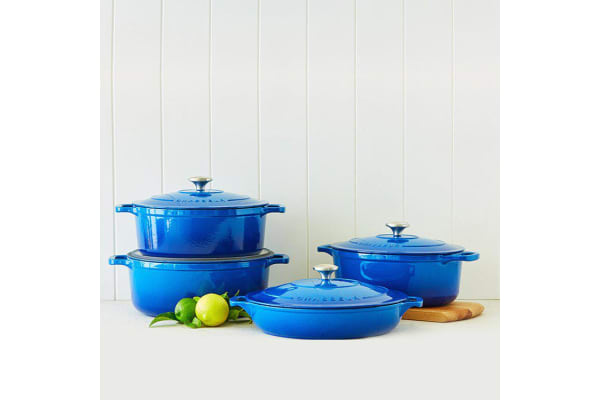 Chasseur Round French Oven 26cm - 5.2L Imperial Blue