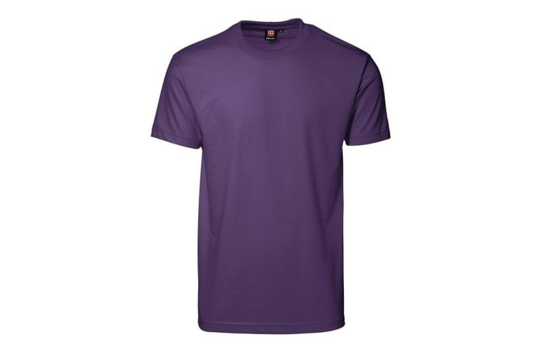 ID Mens Pro Wear Regular Fitting Short Sleeve T-Shirt (Purple) (2XL)