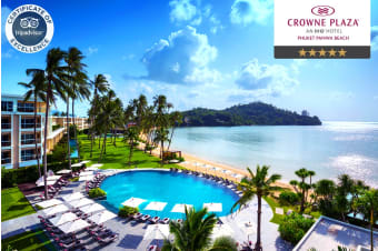 PHUKET: 5/7 Nights at Crowne Plaza Phuket Panwa Beach, Phuket