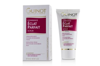 Guinot Gommage Eclat Parfait Scrub - Exfoliating Cream With Double Microbeads (For Face) 50ml/1.6oz