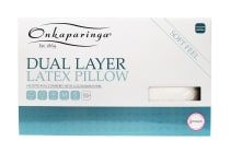 Onkaparinga Dual Layer Latex Pillow