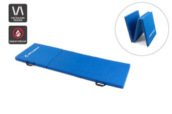 Fortis Folding Exercise Mat (Blue)