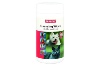 Beaphar Pet Cleansing Wipes (May Vary) (100 Wipes)