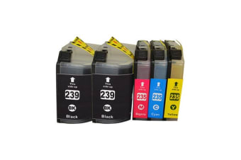 LC-239 Series Premium Compatible Inkjet Cartridge Set Plus Extra Black