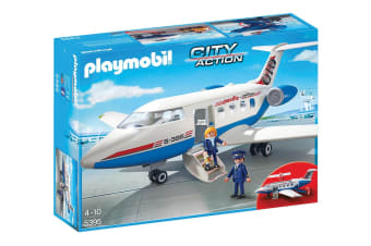 Playmobil City Action Passenger Plane