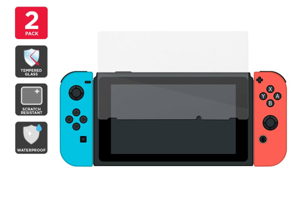 Nintendo Switch Tempered Glass Screen Protector (Pack of 2)