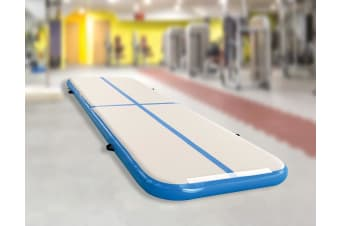 4m Inflatable Air Track Gym Mat Airtrack Tumbling Gymnastics Tumbling with Pump