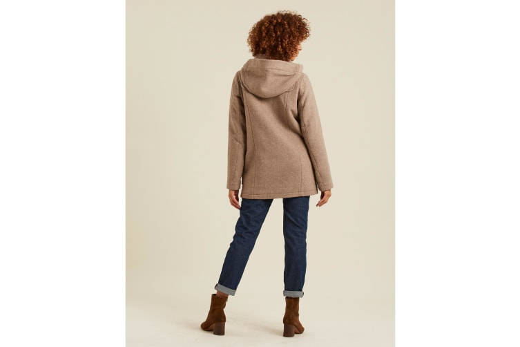 FatFace Womens/Ladies Wool Duffle Coat (Camel) (14 UK)