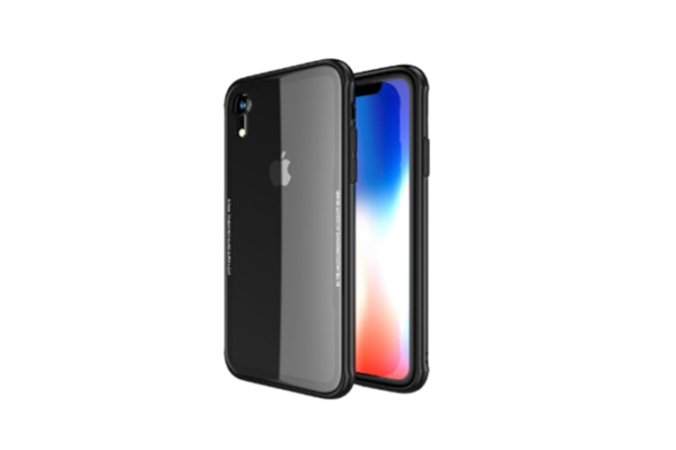Soft Silicone Tpu With 9H High-Hardness Tempered Glass Back Case For Iphone Xs Max Black Iphone7/8Plus