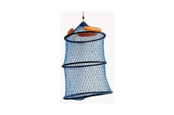 Seahorse Collapsible Floating Keeper Net With Draw Cord Closure-Poly Creel