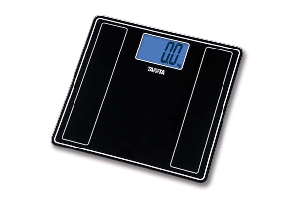 Tanita HD-382 Glass Bathroom Scale - Black (53043)