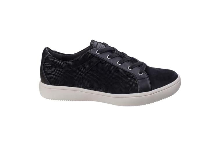 Rockport Womens/Ladies Ariell Leather Lace Trainers (Black) (6 UK)