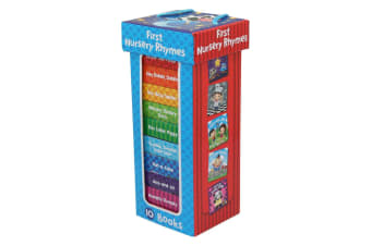 First Nursery Rhymes ( 10 Chunky Board Book Box Set )