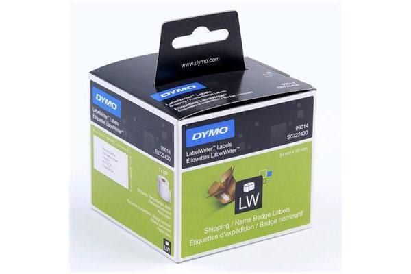 Dymo SD99014 STANDARD SHIPPING - PAPER 54mm x 101mm 1 Roll/Box. 220 Labels/Roll