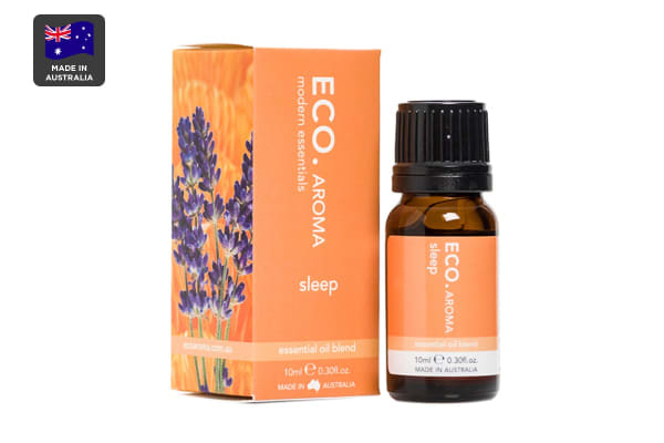 ECO. Aroma Sleep Essential Oil Blend with Mandarin, Lavender, Frankincense, Ylang Ylang & Chamomile (10mL)