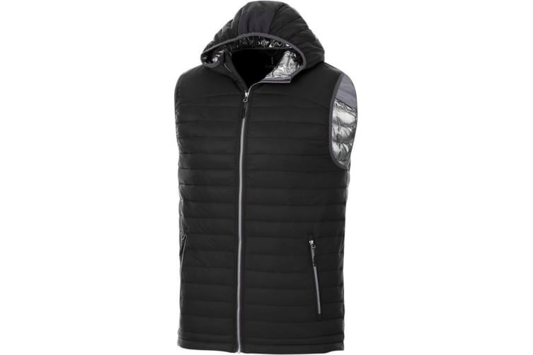 Elevate Mens Junction Insulated Bodywarmer (Solid Black) (M)