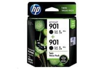 HP Ink E5Y52AA 901 Black Twin Pack