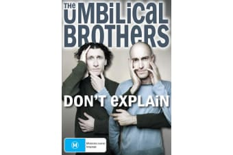 The Umbilical Brothers Dont Explain DVD Region 4